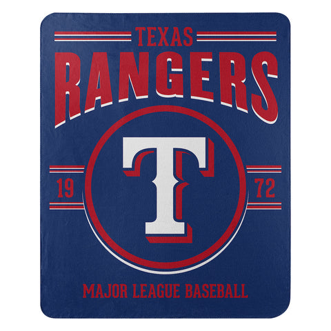 Texas Rangers Fleece Throw