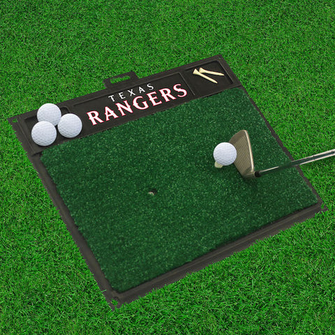 Texas Rangers Golf Ball Hitting Mat