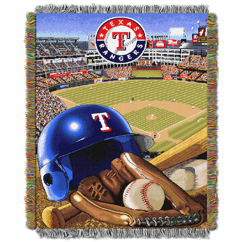 Texas Rangers Home Field Advantage Tapestry