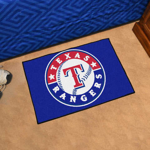 MLB Texas Rangers STARTER Rug - Bed, Bath, And My Team