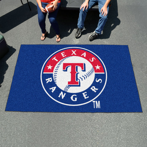MLB Texas Rangers UTILI-MAT Area Rug - Bed, Bath, And My Team