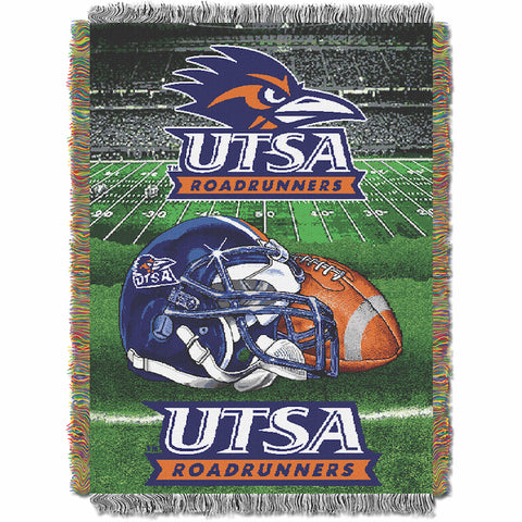 NCAA Texas San Antonio Road Runners HOME FIELD ADVANTAGE Tapestry - Bed, Bath, And My Team