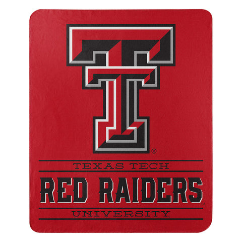 NCAA Texas Tech Red Raiders Fleece Throw ~ 50 x 60 - Bed, Bath, And My Team