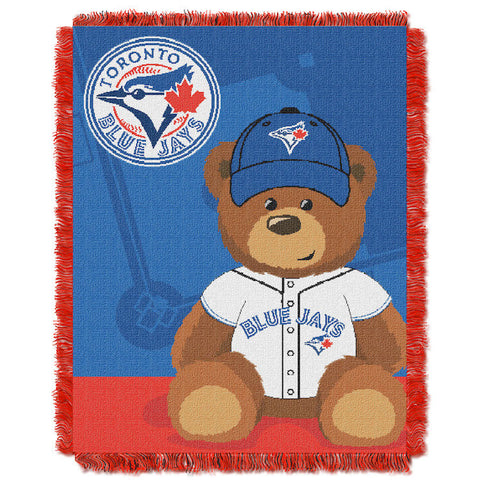 MLB Toronto Blue Jays Baby Blanket - Bed, Bath, And My Team