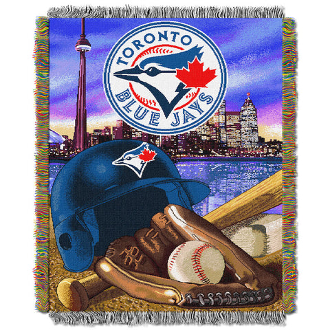 MLB Toronto Blue Jays HOME FIELD ADVANTAGE Tapestry - Bed, Bath, And My Team