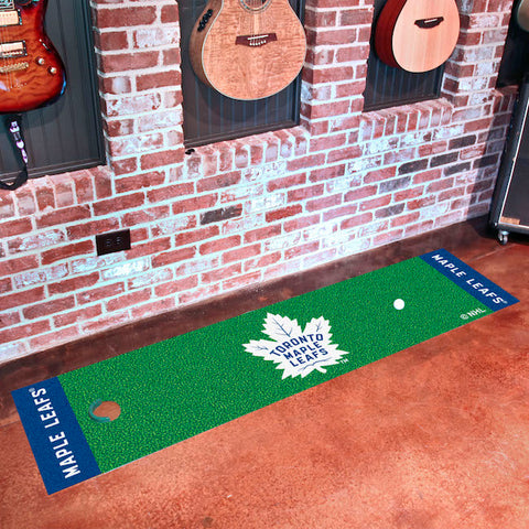 Toronto Maple Leafs Golf Putting Green Mat