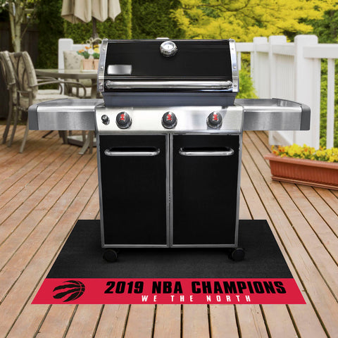NBA Toronto Raptors 2018-19 Finals Champions Grill Mat - Bed, Bath, And My Team