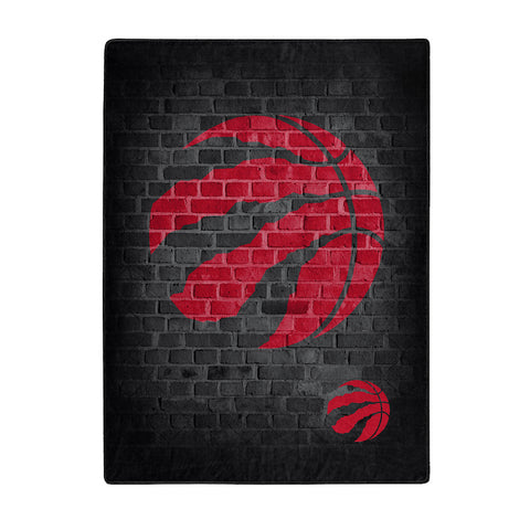 NBA Toronto Raptors 60 x 80 Large Plush Raschel Throw Blanket - Bed, Bath, And My Team