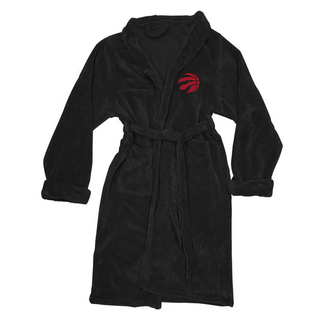 NBA Toronto Raptors Silk Touch Mens Bath Robe - Bed, Bath, And My Team