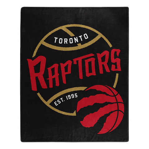 NBA Toronto Raptors 50 x 60 Jersey Raschel Throw Blanket - Bed, Bath, And My Team