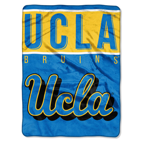UCLA Bruins large plush blanket