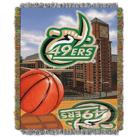 UNC Charlotte 49ers Home Field Advantage Tapestry