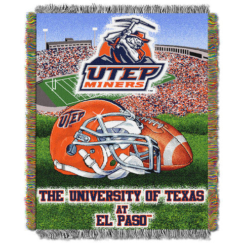 UTEP Miners Home Field Advantage Tapestry