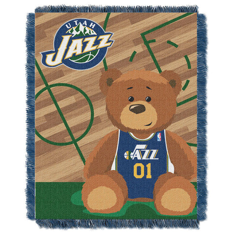 NBA Utah Jazz Baby Blanket - Bed, Bath, And My Team
