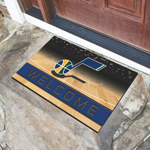 NBA Utah Jazz Recycled Rubber CRUMB Doormat - Bed, Bath, And My Team