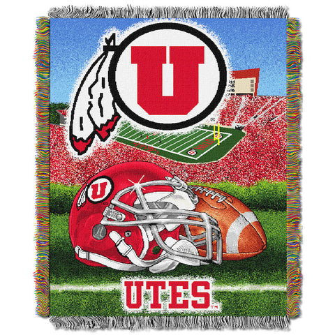 Utah Utes Home Field Advantage Tapestry