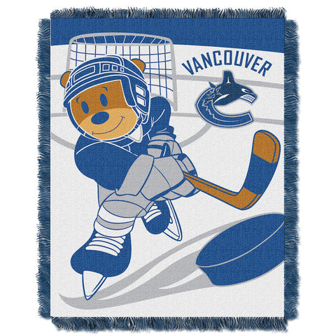 Vancouver Canucks Baby Blanket