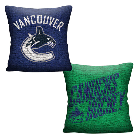 Vancouver Canucks Throw Pillow