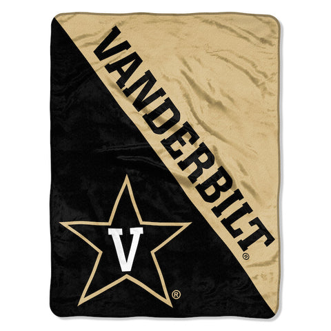 Vanderbilt Commodores Micro Raschel Throw