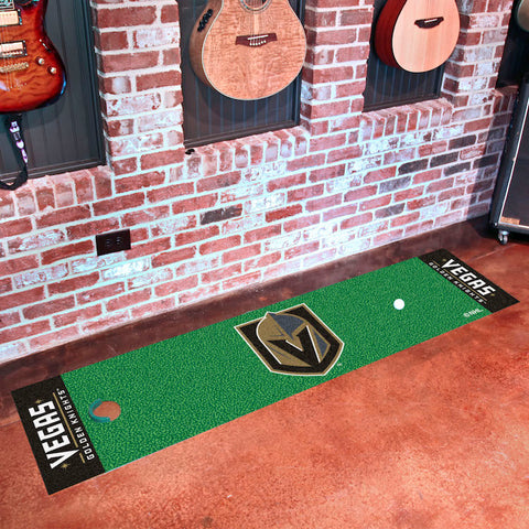 NHL Vegas Golden Knights Putting Green Mat - Bed, Bath, And My Team