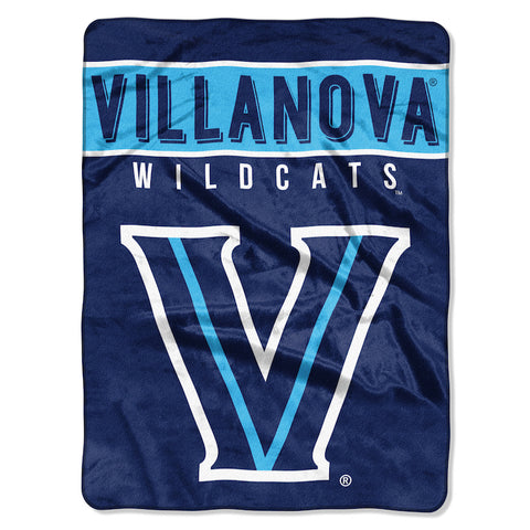 Villanova Wildcats large plush blanket