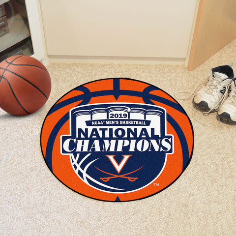 Virginia Cavaliers NCAA Final Four Champions Basketball Mat