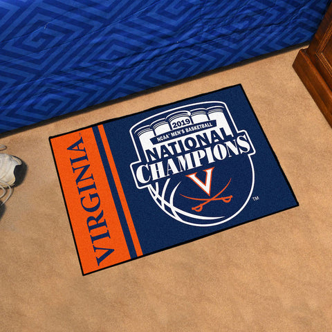 Virginia Cavaliers NCAA Basketball Champions Starter Mat