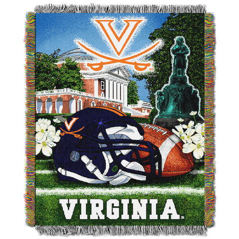 Virginia Cavaliers Home Field Advantage Tapestry