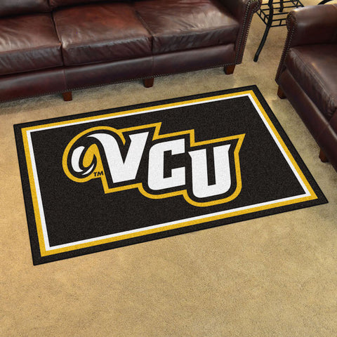 Virginia Commonwealth Rams 4 x 6 area rug