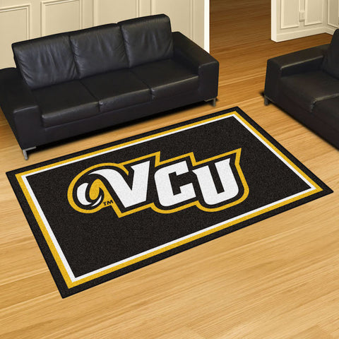 Virginia Commonwealth Rams 5 x 8 area rug