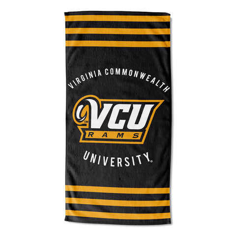 Virginia Commonwealth Rams Beach Towel