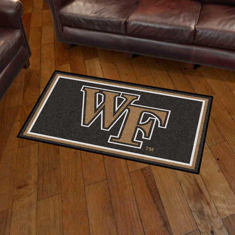 Wake Forest Demon Deacons 3 x 5 area rug