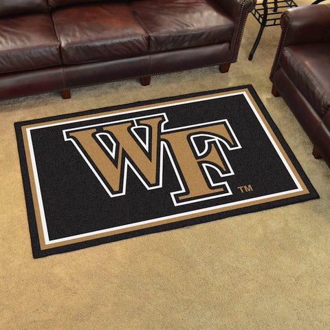 Wake Forest Demon Deacons 4 x 6 area rug