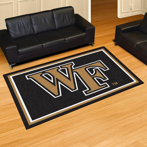 Wake Forest Demon Deacons 5 x 8 area rug