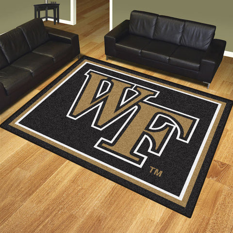 Wake Forest Demon Deacons 8 x 10 area rug