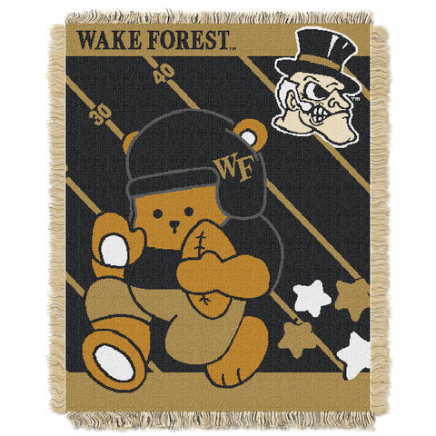 Wake Forest Demon Deacons Baby Blanket