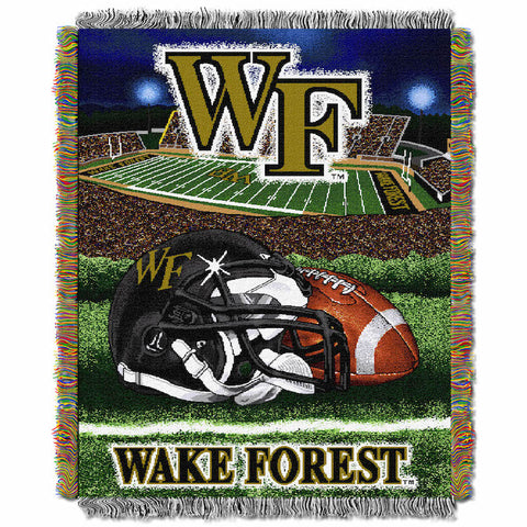 Wake Forest Demon Deacons Home Field Advantage Tapestry