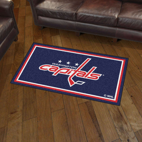 NHL Washington Capitals 3 X 5 Ft. Plush Area Rug - Bed, Bath, And My Team