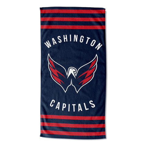 NHL Washington Capitals Beach Towel - Bed, Bath, And My Team