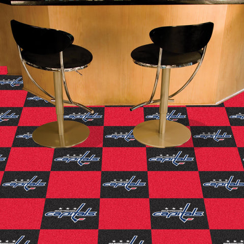 NHL Washington Capitals Carpet Tiles - Bed, Bath, And My Team