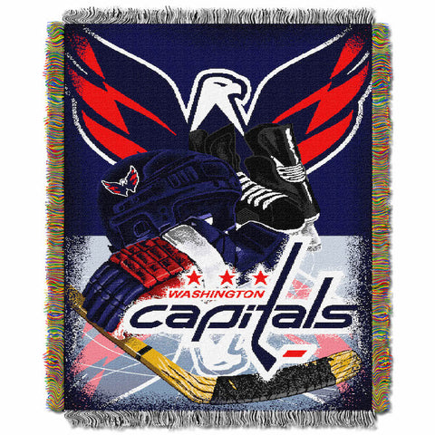 NHL Washington Capitals HOME ICE ADVANTAGE Tapestry - Bed, Bath, And My Team