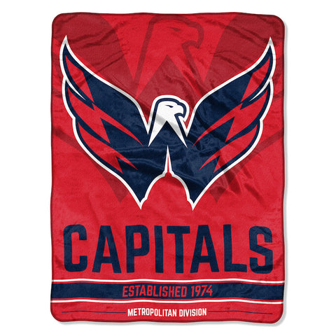 NHL Washington Capitals Micro Raschel Throw - Bed, Bath, And My Team