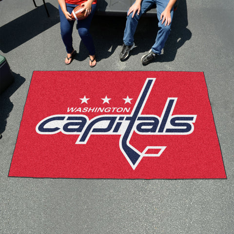 NHL Washington Capitals UTILI-MAT Area Rug - Bed, Bath, And My Team