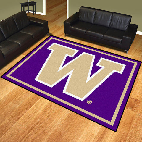 NCAA Washington Huskies 8 X 10 Ft. Area Rug - Bed, Bath, And My Team
