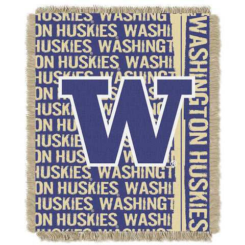 NCAA Washington Huskies Woven Decorative Tapestry - Bed, Bath, And My Team
