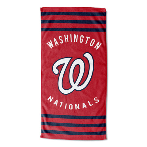 MLB Washington Nationals Beach Towel - Bed, Bath, And My Team