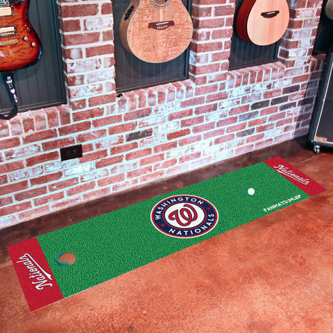 MLB Washington Nationals Putting Green Mat - Bed, Bath, And My Team