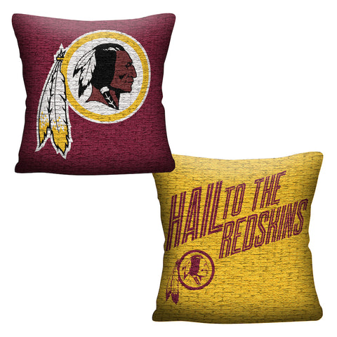 Washington Redskins Throw Pillow