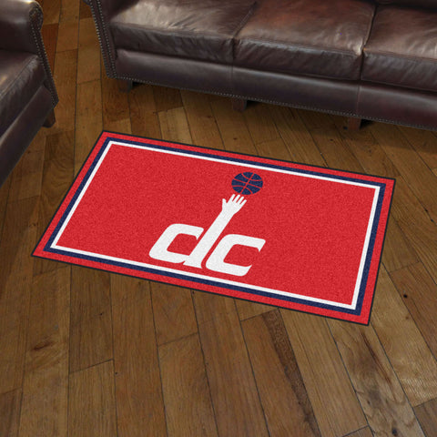 NBA Washington Wizards 3 X 5 Ft. Plush Area Rug - Bed, Bath, And My Team
