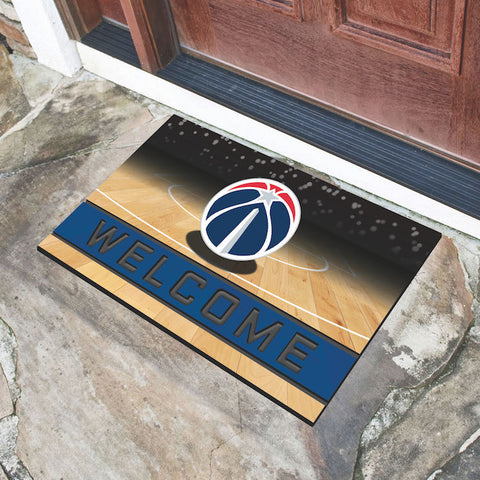 NBA Washington Wizards Recycled Rubber CRUMB Doormat - Bed, Bath, And My Team